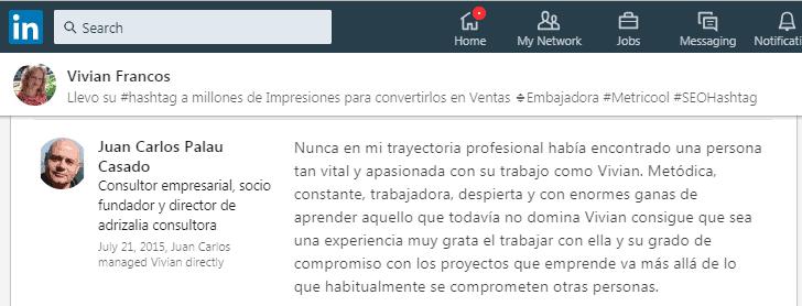 #SEoHashtag Juan Carlos Palau Casado
