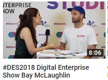 #DES2018 Digital Enterprise Show Bay McLaughlin