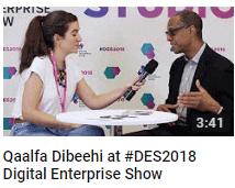 Qaalfa Dibeehi at #DES2018