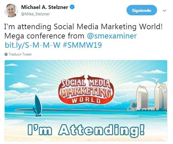 Social Media marketing World SMMW19