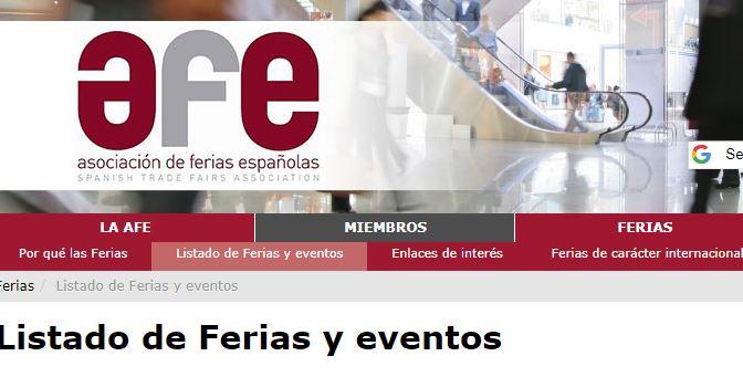 Asociacion de Ferias Espanolas #SEOHashtag