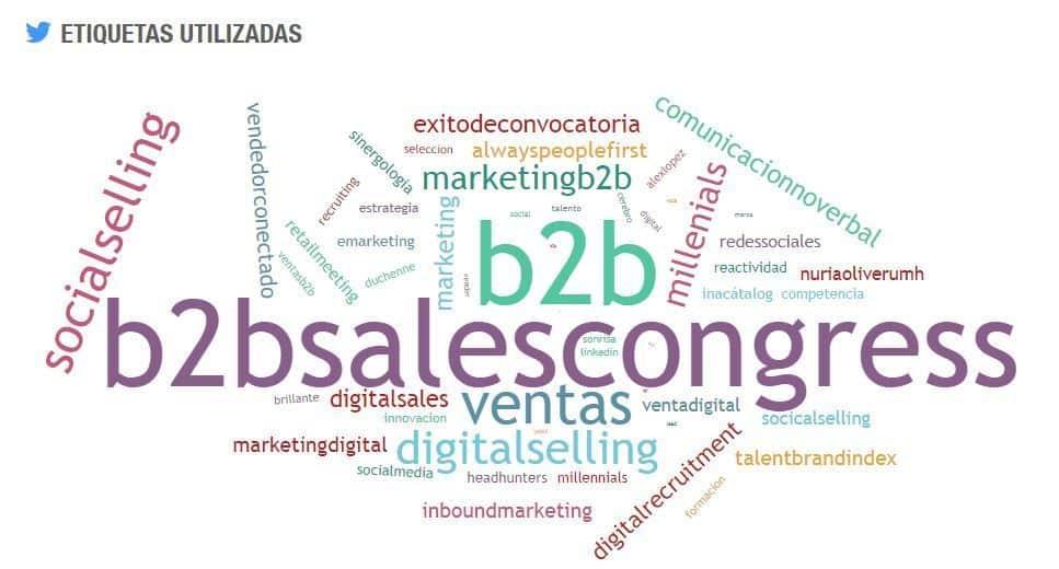 #B2BSalesCongress #SEOhashtag 2nda edicion