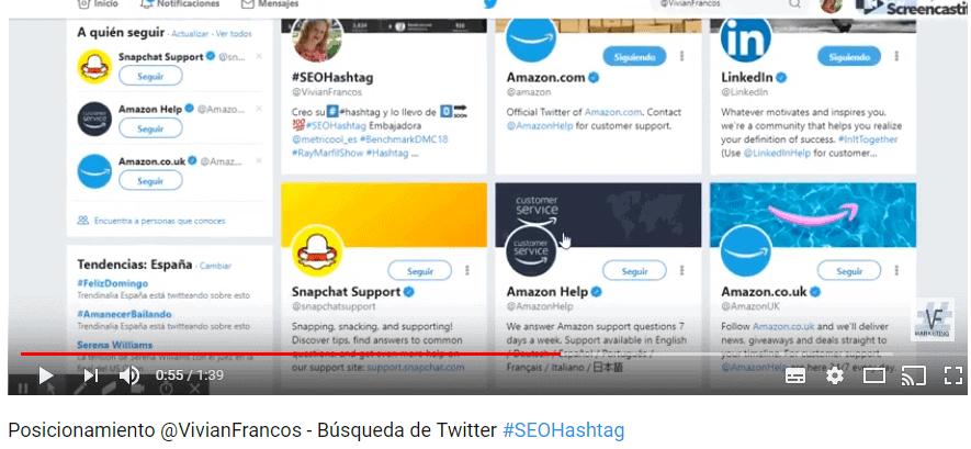 #SEOhashtag Posicionamiento