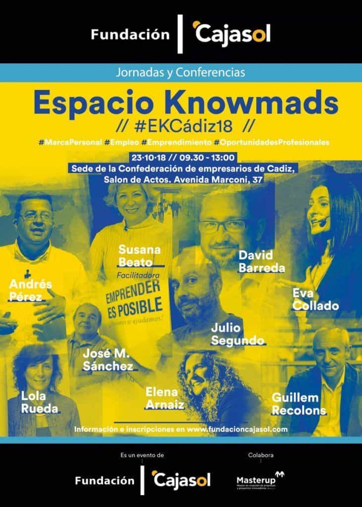 #EKCadiz18 Cartel de ponentes