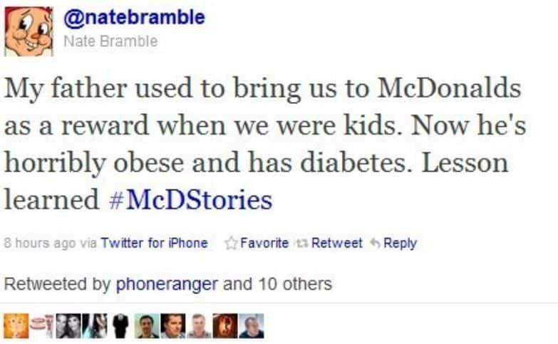 hashtag mc donalds #SEOhashtag